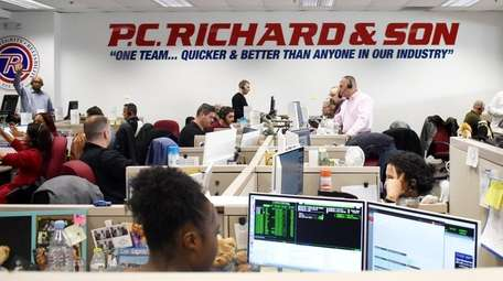 Cyber Monday was busy at the P.C. Richard