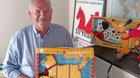 Richard Tomasco, a director at Applepie Toys, with