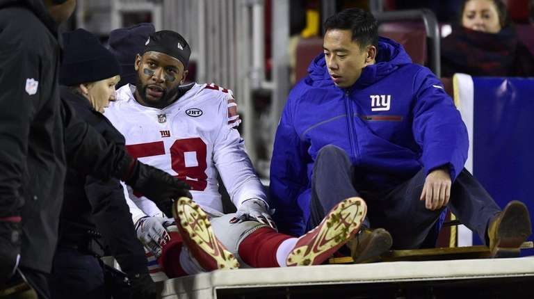 Giants put 4 more players on injured reserve, increasing total to 19