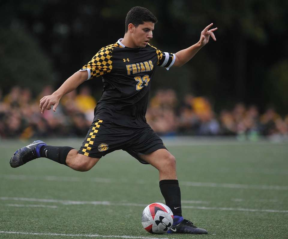 The anchor to the Friars' defense, Barresi added