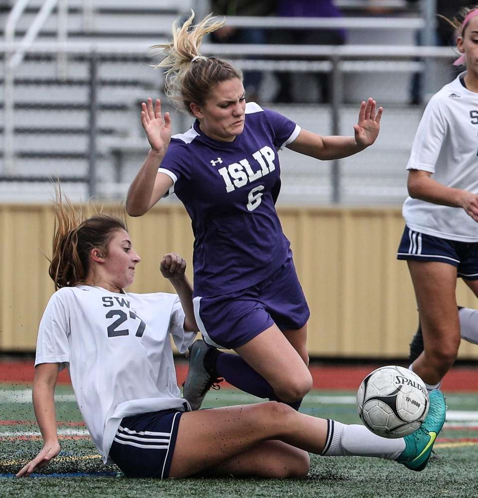 Nothing was going to keep Islip's Hannah Franco