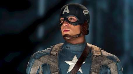 Chris Evans as Captain America is one of
