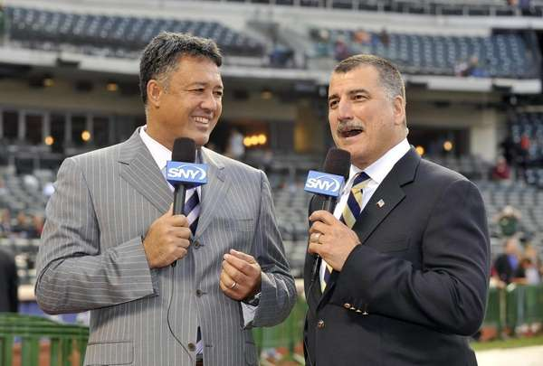SNY broadcasters and former New York Mets, Ron
