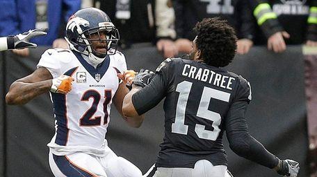 Broncos cornerback Aqib Talib fights Raiders wide receiver