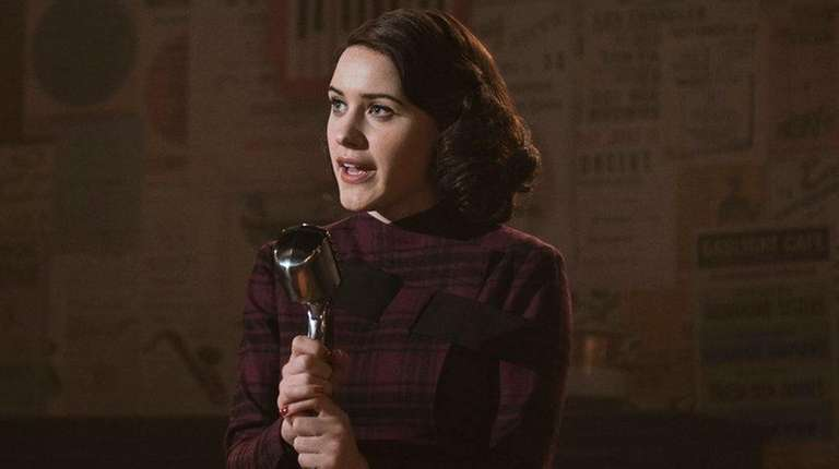 Rachel Brosnahan as Midge Maisel in Amazon Prime's