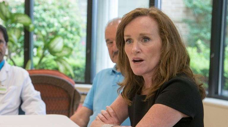Rep. Kathleen Rice, seen here on July 7,