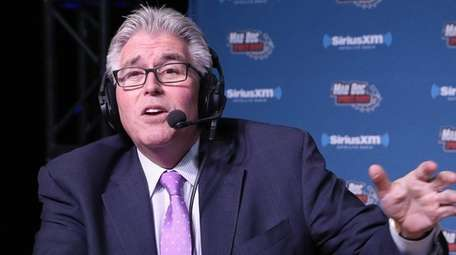 Mike Francesa simulcasts from the SiriusXM set at