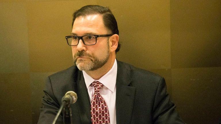 NIFA chairman Adam Barsky at the board meeting
