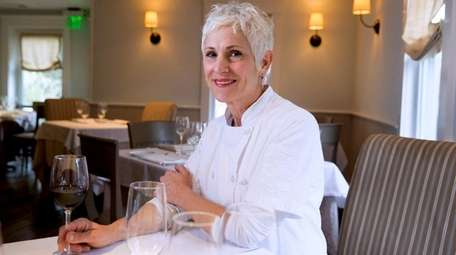 Claudia Fleming, pastry chef at The North Fork
