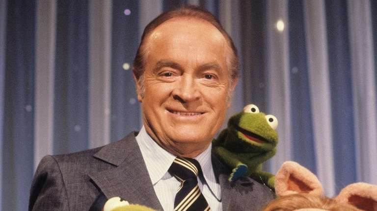Bob Hope was joined by Muppets Kermit the