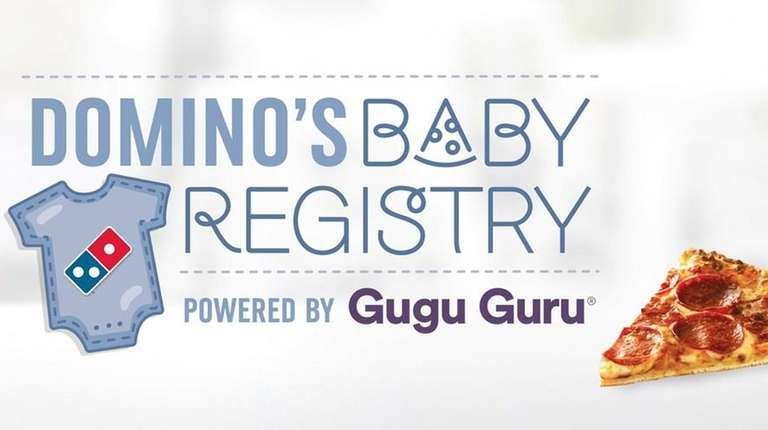 Special delivery! Domino's launches baby registry for pizza-loving parents