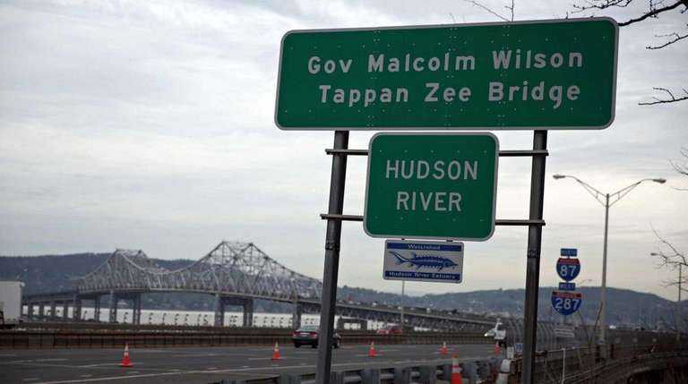 The sign for the Gov. Malcolm Wilson Tappan