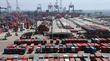 The Commerce Department releases its October trade deficit