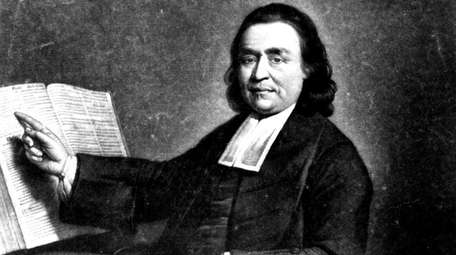 Samson Occum, a Mohegan from Connecticut who preached
