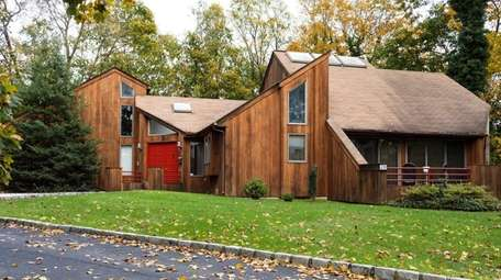 The three-bedroom Contemporary in Sayville is listed for