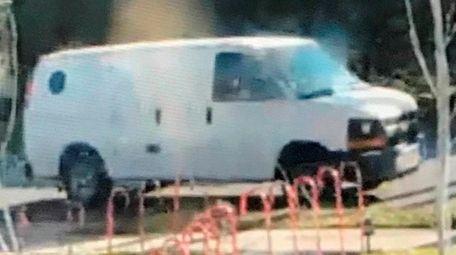 Malverne police said the van above has been