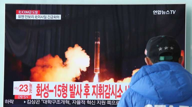 Seoul: N. Korea's new missile could reach Washington