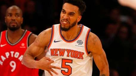 Knicks swingman Courtney Lee is having a career