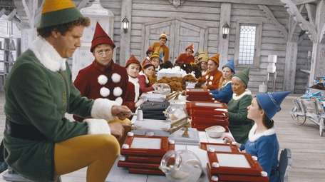 Will Ferrell stars as one of Santa's helpers