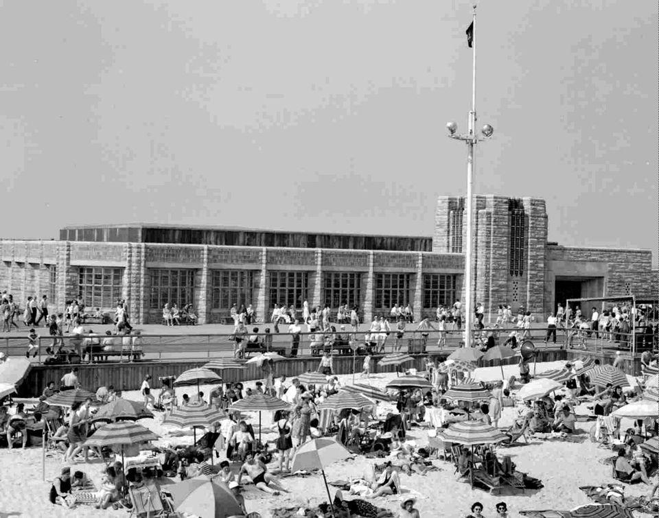 July 4, 1946 - Old Boardwalk Restaurant entrance