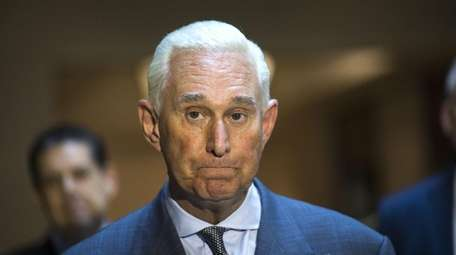 Roger Stone seen on Sept. 26, 2017.