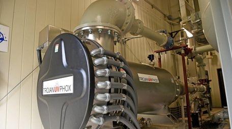 An advanced oxidation process machine at a Suffolk