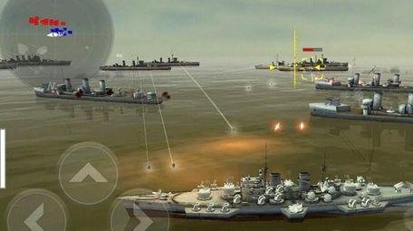 In Warship Battle: 3D World War II, gamers