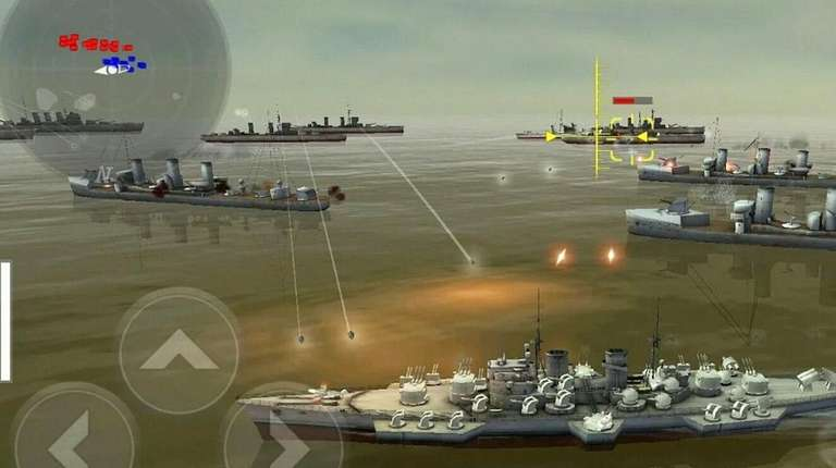 In Warship Battle: 3D World War II, gamers