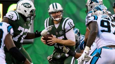 Josh McCown fumbles and the Panthers return
