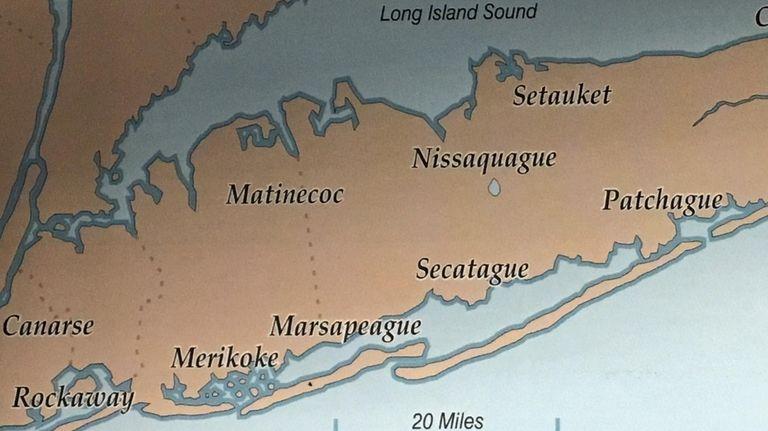 The idea that Long Island had 13 distinct