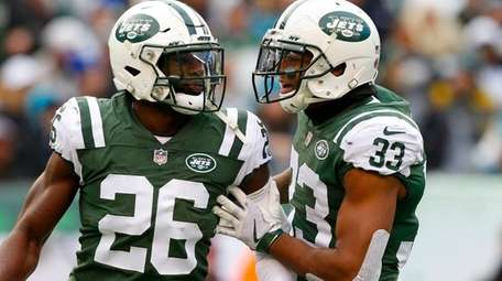 Marcus Maye (26) and Jamal Adams are two