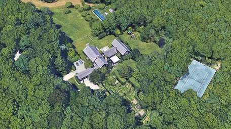 The Sag Harbor property owned by Matt Lauer.