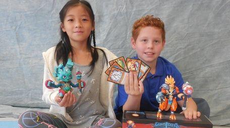 Kidsday reporters Sarah Gao and Joseph Corrado tested