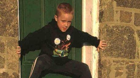 Kidsday reporter Kody Flynn works on his ninja
