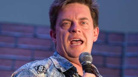 Comedian Jim Breuer, pictured on May 21, 2017,