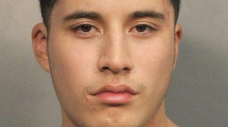 Edwin Gonzalez, 23, of Uniondale was arrested Saturday,