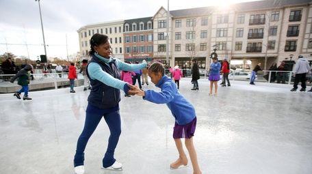 Olympic figure skater Surya Bonaly, gives skating tips