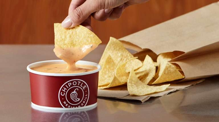 Chipotle's new Queso dip will be offered at
