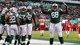 The Jets defeated the Chiefs, 38-31, at MetLife Stadium