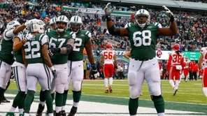 The Jetsdefeated the Chiefs, 38-31, at MetLife Stadium