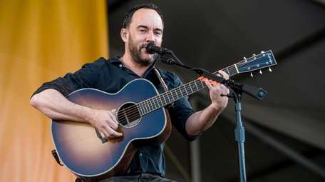 Dave Matthews performing in New Orleans in May