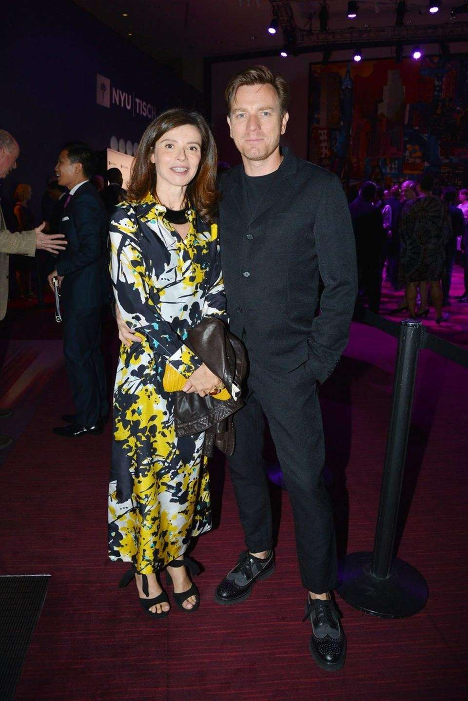 Actor Ewan McGregor and his production-designer wife Eve