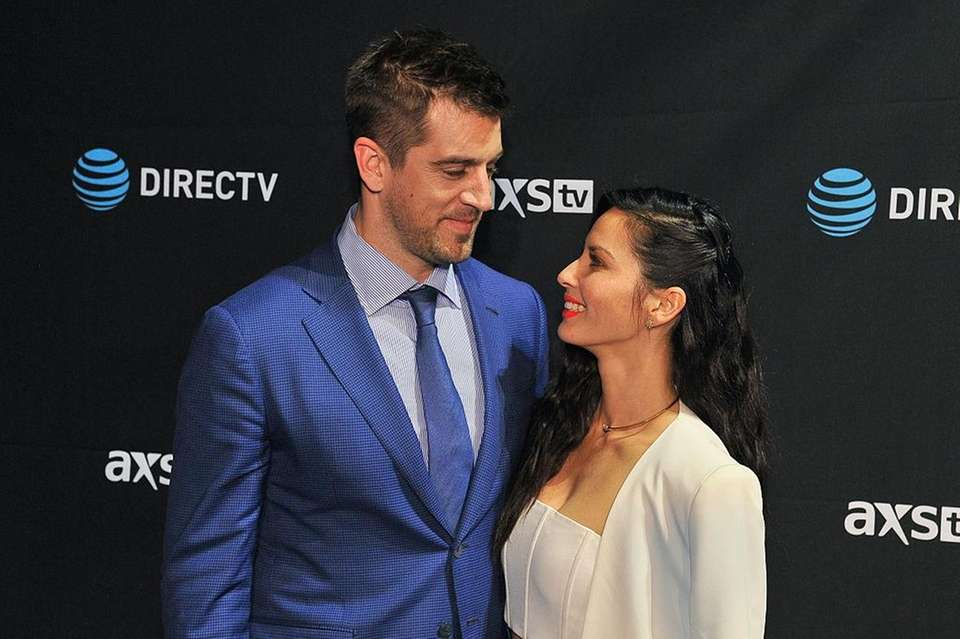 Olivia Munn and Green Bay Packers quarterback Aaron