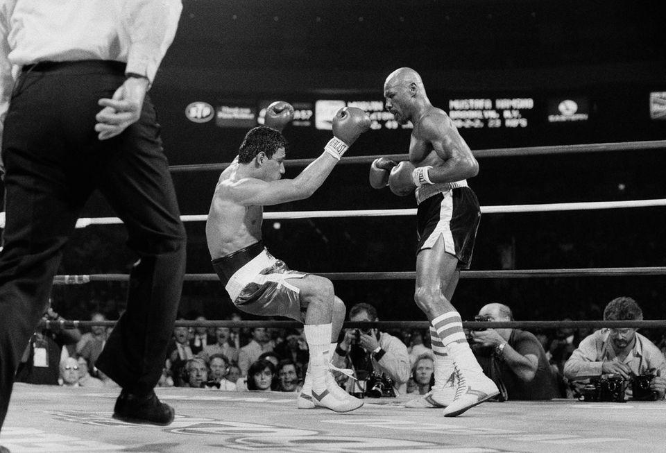 The Hagler-Hamsho rematch was Hagler's only fight at