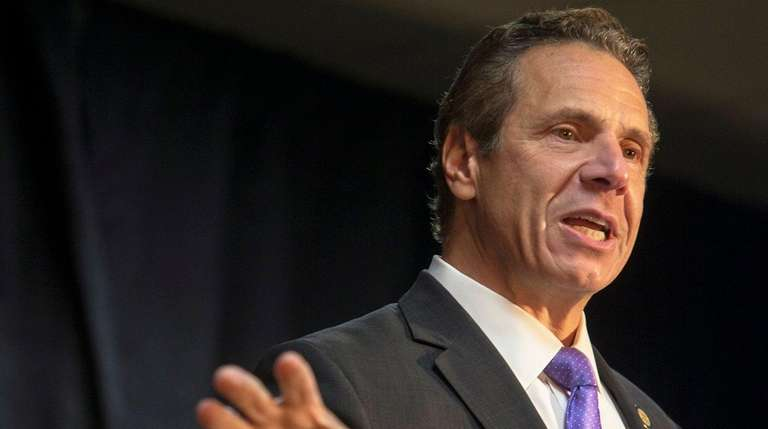 Gov. Andrew Cuomo was one of several Democratic