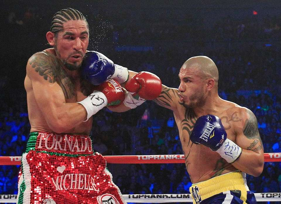 This was billed as a grudge match. Margarito