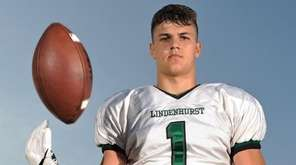 Lindenhurst standout Jeremy Ruckert earned a scholarship to