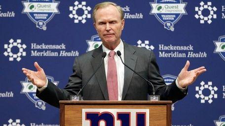 The pressure is on Giants co-owner John Mara