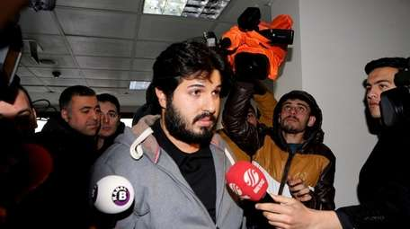 Turkish-Iranian businessman Reza Zarrab, who is charged currently