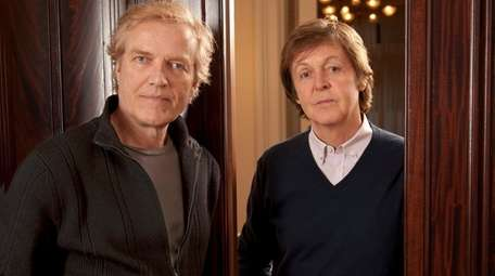 Choreographer Peter Martins, pictured with Paul McCartney in
